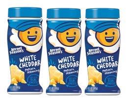 Kernel Seasons Popcorn Seasoning Jumbo Size 8.5oz White Cheddar (Pack of 3) by Kernel Season