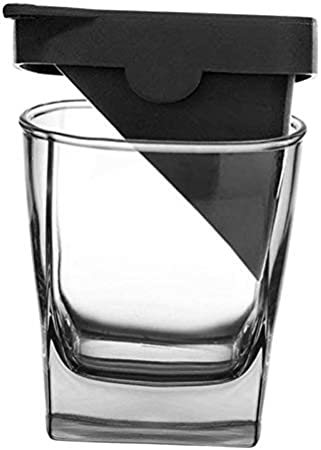 MagiDeal Vasos de Vino de Cristal Transparente, Vasos de chupito, Vasos de Whisky creativos, Taza de Cerveza con Molde de Hielo para cóctel de Vino Vodka,