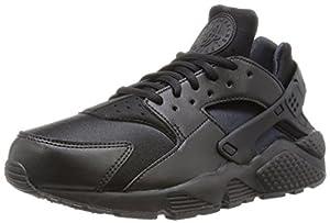 NIKE Women's Sneaker Air Huarache Run Nera 37,5(EU)-6½(US) Black