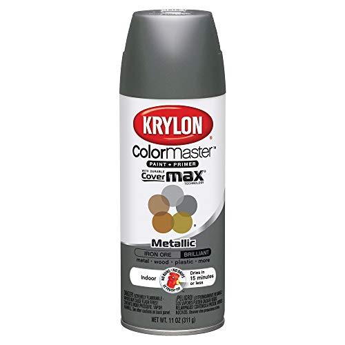 : Krylon K05359202 ColorMaster Primer Aerosol Paints, Iron Ore