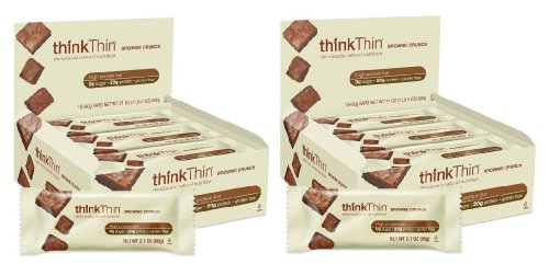 thinkThin Brownie Crunch (Pack de 10), Pack 2