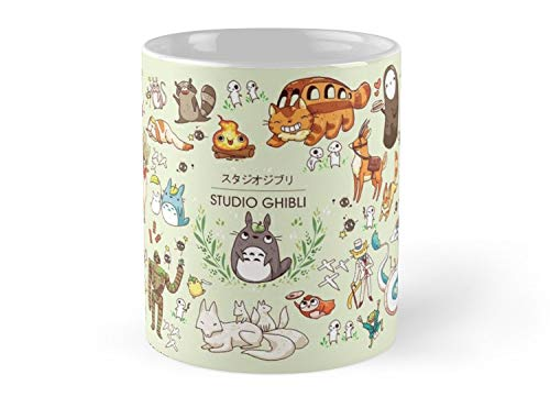 Ghibli Studios characters Mug]()