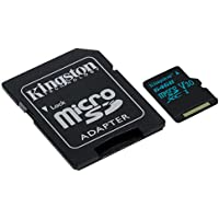Kingston Canvas Go! 64GB microSDXC Class 10 microSD...