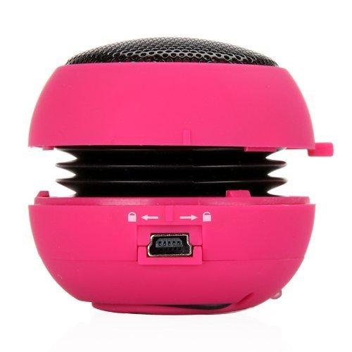 KKmoon Mini Hamburger Speaker for iPhone iPad iPod Laptop...