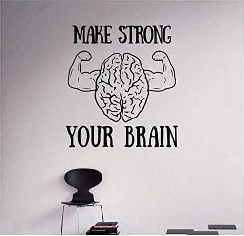 Pbbzl Motivación Fortalezca Su Cerebro Tatuajes De Pared ...