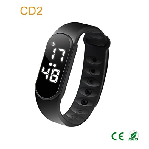 Price comparison product image Boofab Fitness Tracker, CD2 Smart Watch Bracelet with Heart Rate Monitor and Sleep Monotir,  Waterproof Color Screen Smart Watch, Step Counter Pedometer and Calorie Counter for Wome Men Kids (Black)