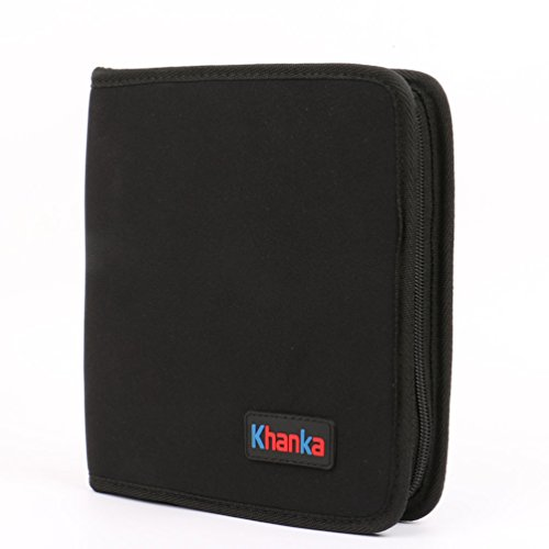Khanka Black All-in-one Carrying Travel Hard Case Cover S...
