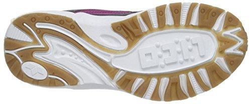 LicoBob VS - Zapatillas deportivas para interior niña Violeta - Violett (lila/anthrazit/lemon)