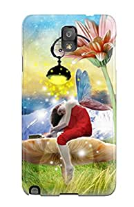 Ideal BradyFord Case Cover For Galaxy Note 3(the Fairy Hangout), Protective Stylish Case
