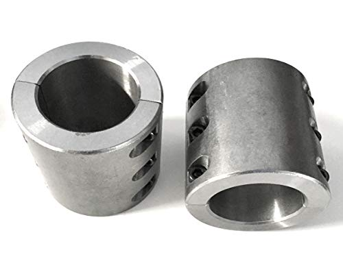 - Steel tube clamps bolt on 1.875