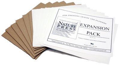 Leaves Expansion (7 X 9 Nature Press Flower & Leaf Press Expansion Pack (For Pressing Leaves & Flowers))
