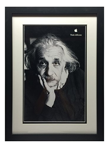 einstein think different poster