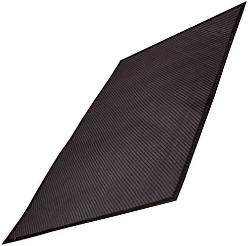Black Just Suk It Up.com/™ All-Season Full-Floor Size 8FT x 14FT x 1//2-IN Thick Also Available in Brown and Grey Colors Garage Mat