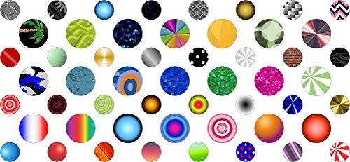 (StickerTalk Random Patterns Camera Dots Webcam Covers)