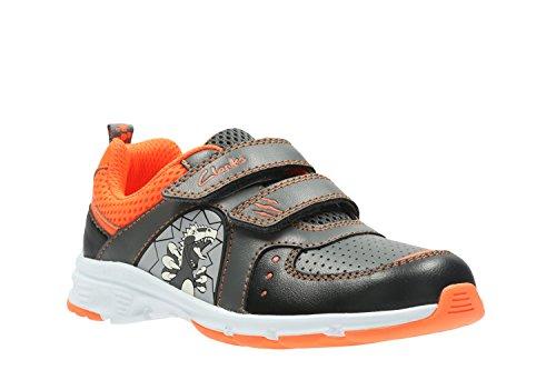 Clarks  Pass Roar Inf, Chaussures de trail pour garçon orange Orange