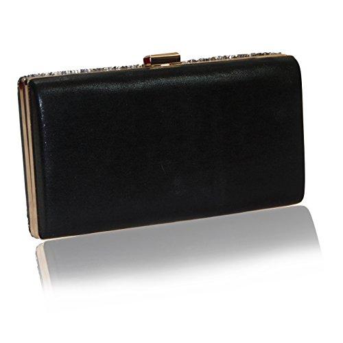 Handbag Krazy - Cartera de mano de Otra Piel para mujer Midnight Black