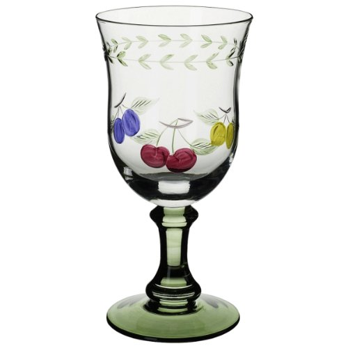 Villeroy & Boch French Garden Accessories 10-Ounce Water Goblet, Set of 4 Glass