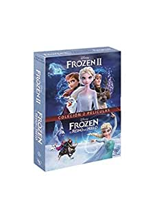 Pack: Frozen + Frozen 2 (DVD): Amazon.es: Personajes animados ...