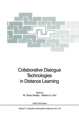 Collaborative Dialogue Technologies in Distance Learning (Nato ASI Subseries F:)
