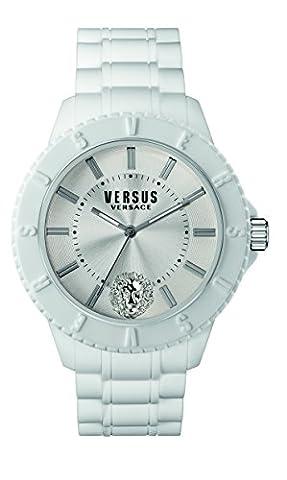 Versus by Versace Men's SOY020015 Tokyo Analog Display Quartz White Watch (Gold Versus Watches For Men)