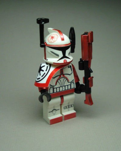 Clone Trooper Commander Arc Red Fox min figure