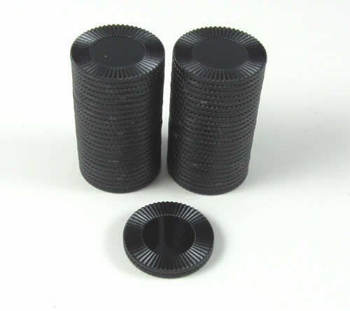 Best Deals! Koplow Games Black Mini Poker Chip 7/8in Tube of 50ea by
