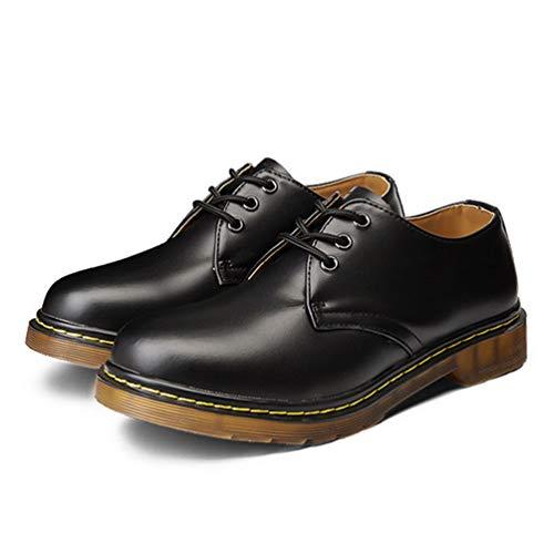 da da Nero Stivali Casual Martin Uomini Lavoro Scarpe 1 Leather Leather Leather 5x8qPYTw