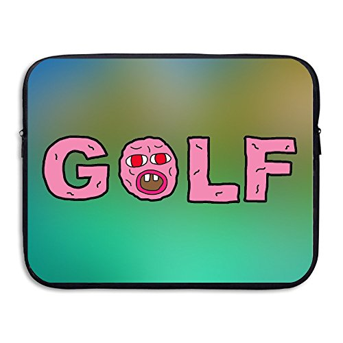 HYRONE Funny Golf Logo Laptop Bag For Macbook 15 Inch