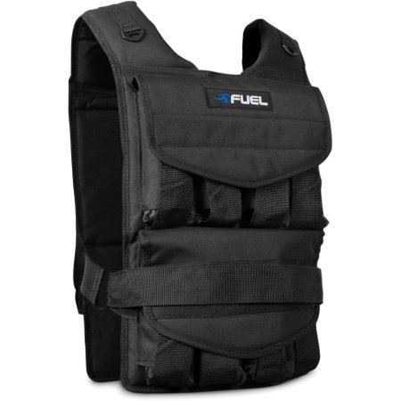40-lb Adjustable Weighted Vest by Fuel Pureformance