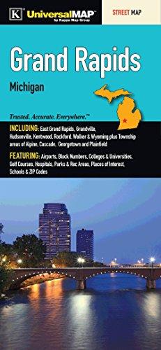 Grand Rapids, MI Fold Map