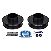 "Supreme Suspensions - 2.5"" Rear Lift Kit for 2009-2016 Dodge Ram 1500 2WD + 4WD Rear Carbon Steel Spring Spacers"