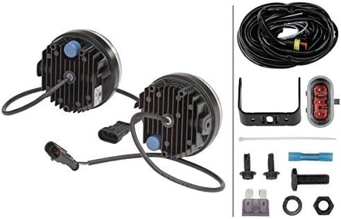 limpide HELLA 2PT 009 599-811 Kit de feux diurnes Endroit dassemblage: gauche//droite LED Montage en saillie Couleur LED: blanc 12V//24V