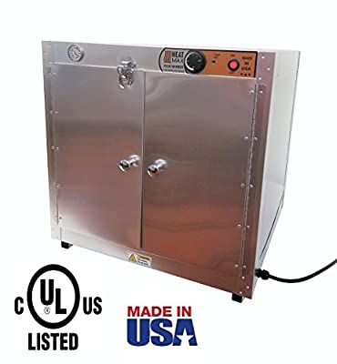 "Commercial 110V Catering Hot Box Food Warmer w/ Water Tray 24""x24""x24"""