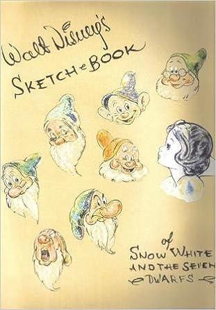 walt disneys sketch book of snow white and the seven dwarfs