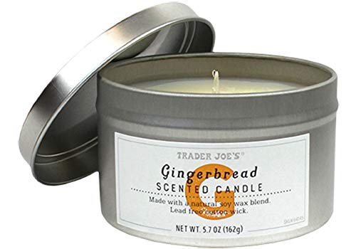 Trader Joe's - Gingerbread Scented Candle NET WT. 5.7 OZ - 2-Pack