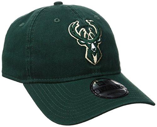 NBA Milwaukee Bucks Adult Men NBA Core Classic 9Twenty Adjustable Cap,OSFA,Dark Green]()