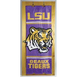- LSU Tigers NCAA Door Flag by New Creative