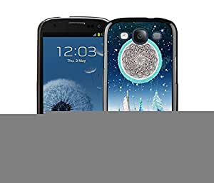 New Best Samsung Galaxy S3 Case Durable Soft Silicone TPU Dream Catcher Nebula Black Cell Phone Case Cover