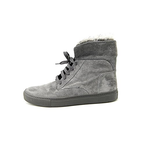 Vince Mujeres Nyack Fur High Top Sneakers Graphite