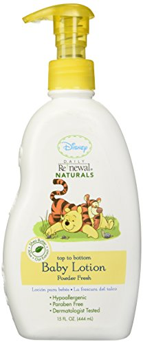 New Windsor Disney Baby Daily Renewal Baby Lotion - Powder Fresh - 15 oz