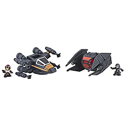 Star Wars Sw S2 DLX Vehicle Two Pack