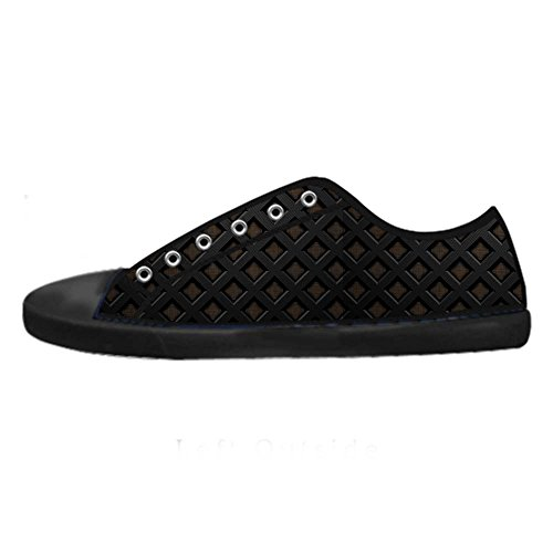 Dalliy Metal Mens Canvas shoes Schuhe Lace-up High-top Sneakers  Segeltuchschuhe Leinwand-