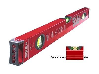 "Sola Big ""X"" Box 24"" Aluminum Level w/Contoured Grip - BX24"