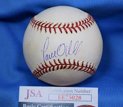 Paul Oneill Hand Signed - PAUL O`NEILL JSA Autograph American League OAL Hand Signed BasebaLL