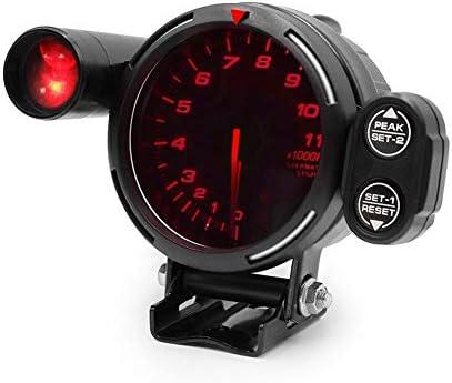 L.P.L 80MM 7色オートタコメータゲージシフト光で0から11000タコメータ高速ステッピングモータ