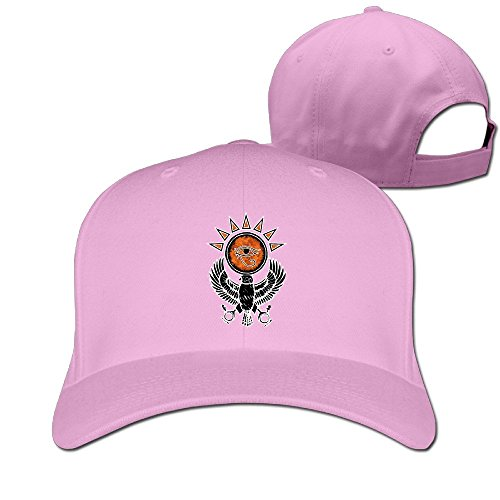 Holy Providence Sun Horueye Shining Eagle Baseball Cap Pink ()