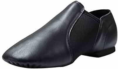 Dynadans Leather Upper Slip-on Jazz Shoe (Big Kid/Little Kid/Toddler)