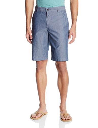 Dockers Men's Classic-Fit Perfect Short D3, Clarke A Chambray, - Classic Pattern Colored