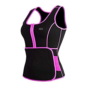 ALONG FIT Waist Trainer Vest for Women Plus Size Sweat Sauna Slim Corset Fitness Neoprene Body Shaper