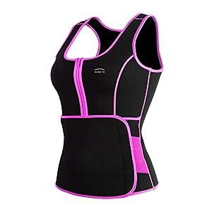 ALONG FIT Waist Trainer Vest for Women Plus Size Sweat Sauna Vest Neoprene Body Shaper